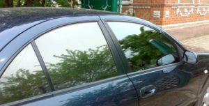 Фото зеркальной тонировки авто